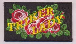 Triker Lady Roses Patch