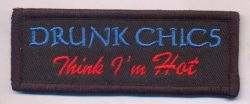Drunk Chics patch