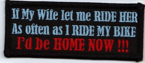If my wife Patch