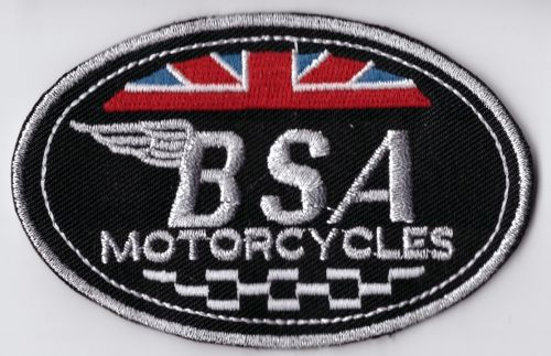 BSA Wings Oval Patch