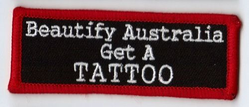 Beautify Australia B/R Patch