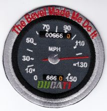 Ducati Bevel Cloth Patch