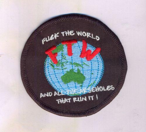 FTWorld Round Patch