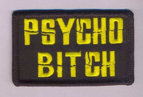 Psycho Bitch Patch