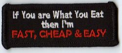 If you are what you Eat Patch