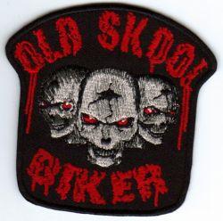 Old School Biker Patch