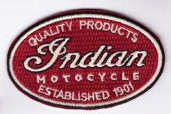 Indian Old School Oval Patch