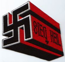 Seig Heil German Patch