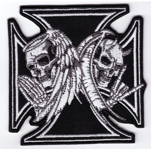 Maltese Angel and Devil Patch