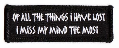 Off all the things Patch