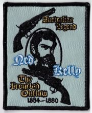 Ned Kelly Ironclad Outlaw Patch