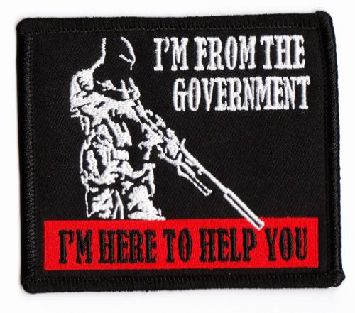 I'm from the Government Patch