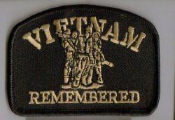 Vietman Remembered Patch