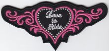 Love to Ride Wings Patch