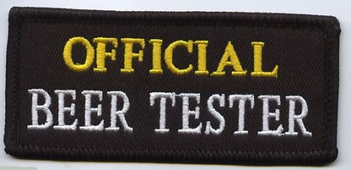 Official Beer Tester Patch