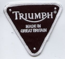 Triumph Triangle Made In Patch