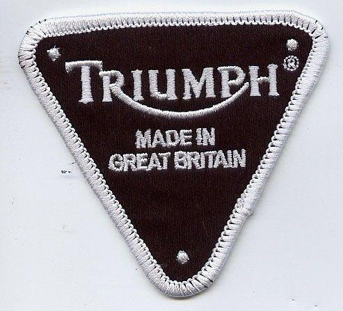 Triumph Triangle Made In Patch