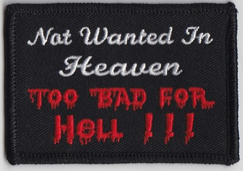 Not Wanted in Heaven Patch