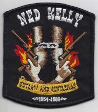 Ned Kelly Blazin Guns Patch