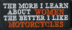 The more I learn about Women Patch