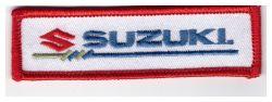 Suzuki Wide Oblong White Patch