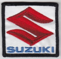 Suzuki Red S on White Patch