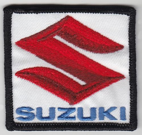 Suzuki Red S on White Patch