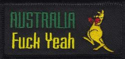 Australia Fuck Yeah Patch