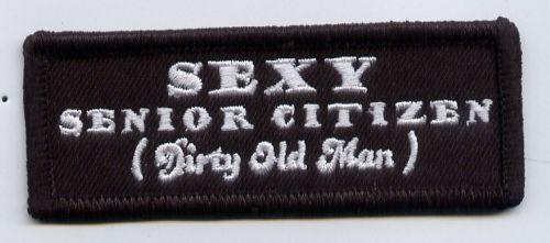 Sexy Senior Citizen Patch