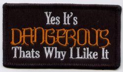 Yes it's Dangerous Patch