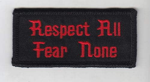 Respect All Patch