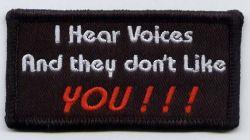 I hear voices Patch