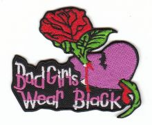 Bad Girls wear Black Patch