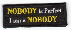 Nobody is Perfect Patch