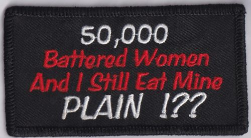50,000 Batterted Women Patch