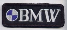BMW Oblong Patch