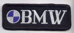 BMW Oblong Patch
