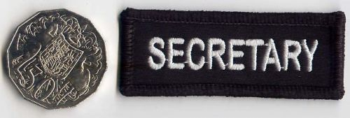 Secretary Patch