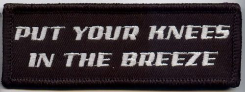 Put your knees in the Breeze Patch