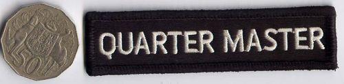 Quarter Master Patch