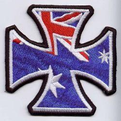 Aussie Iron Cross Patch