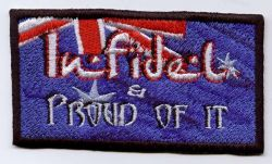 Infidel & Proud of it Patch