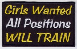 Girls wanted Patch