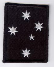 Southern Cross Stars Oblong Patch