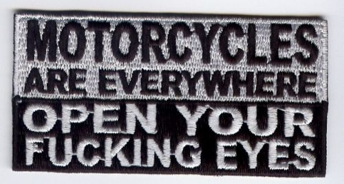 Motorcycles are Everywhere Patch