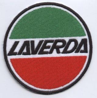 Laverda Embroidered cCoth Patch