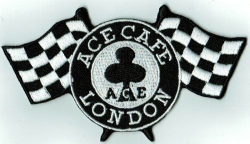 Cafe Flags Cloth Patch