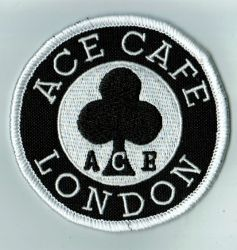 Ace Cafe Round Patch