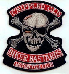 Cripple Old Biker Bastards MC Patch
