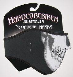 Face Mask Hardcore 1/2 Skull